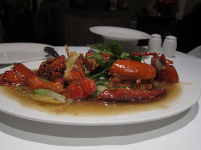 Lobster at Mandarin Kitchen, Kensington Garden Area, London