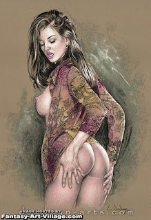 Retratos Seductores Pastel Mujeres Desnudas