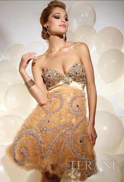 Vestidos cortos de fiesta terani 2012 19 - Gen� K�z Abiye Modelleri