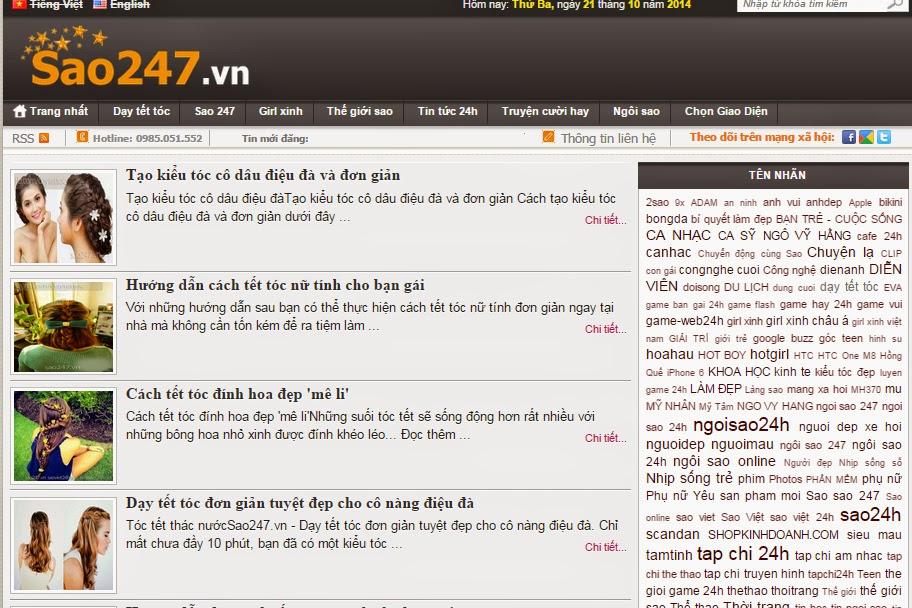 website tin tức giống sao247