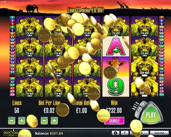 Heavyweight Gold Slot Machine - Free to Play Demo Version