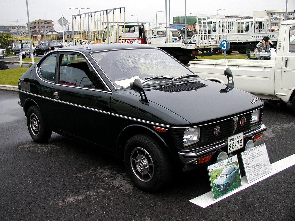 Suzuki Fronte Coupe, samochody z 3-cylindrowymi silnikami, napęd na tył, klasyki, stare modele