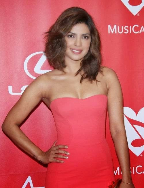 Priyanka Chopra At MusiCares Person of The Year Awards Pics