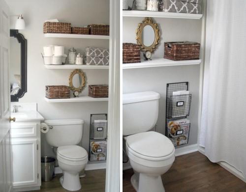 Prendada e Caprichosa: Banheiros Pequenos