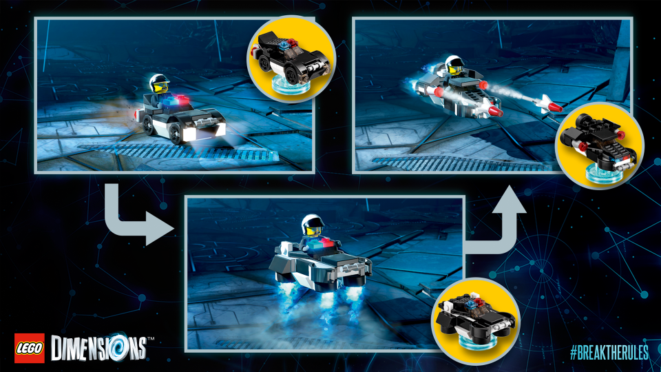 lego back to the future dimensions instructions