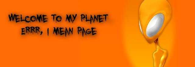 Welcome To My Planet Facebook Timeline Cover