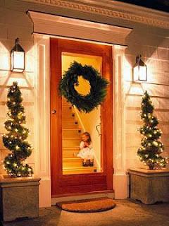 Como Decorar Puertas en Navidad, parte 1