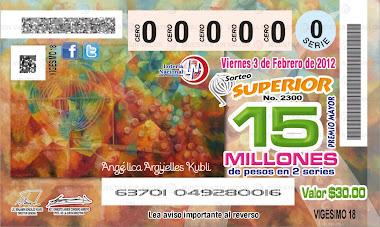 Sorteo Loteria Nacional 2300