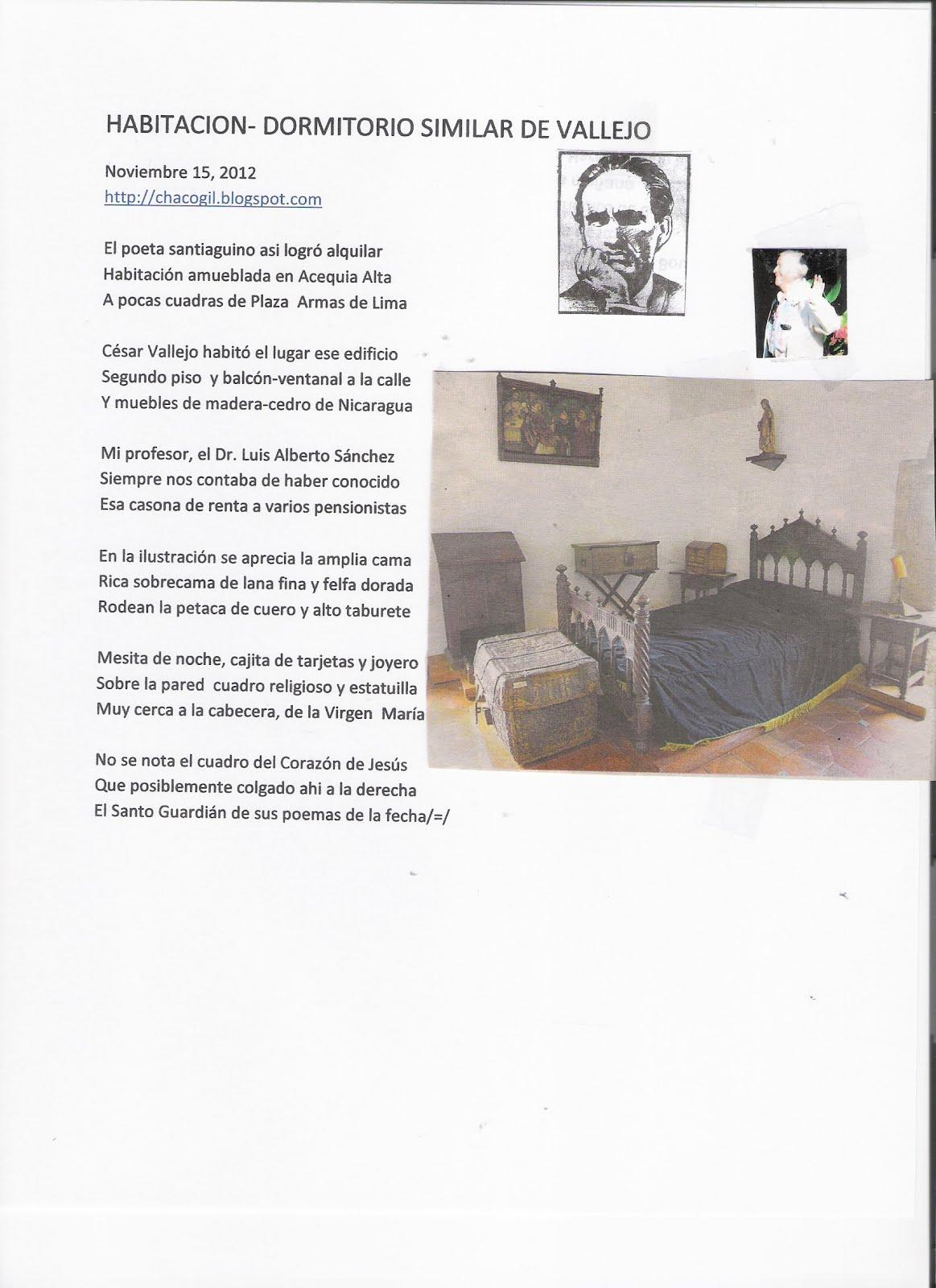 Chaco gil hogar o habitacion es la palabra magica que for Que significa habitacion