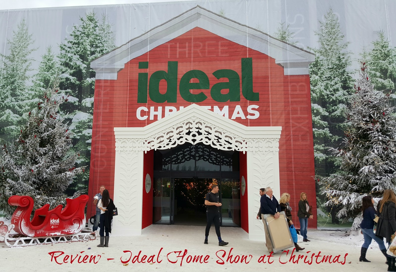 review ideal home show at christmas stacey in the sticks