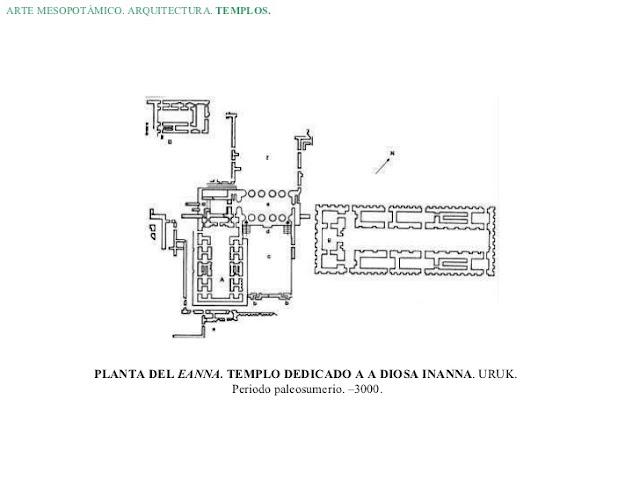 templo blanco de uruk planta