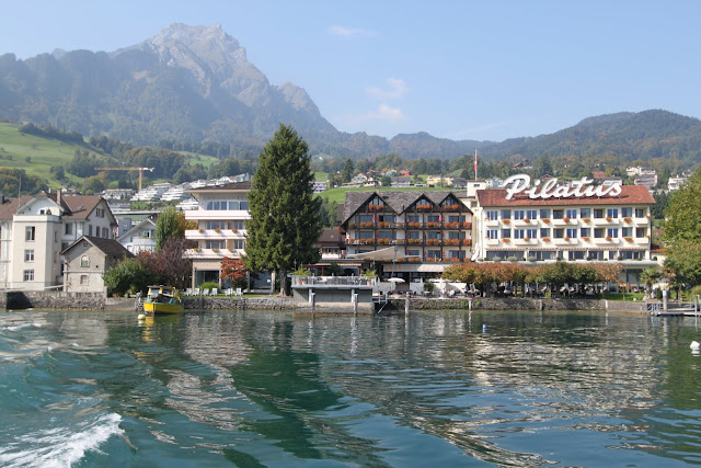 The scenery is similar to the fairy tales in Lucerne, Switzerland