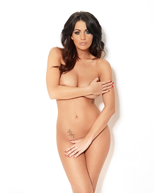 Holly Peers – Nuts Magazine Topless Photoshoot