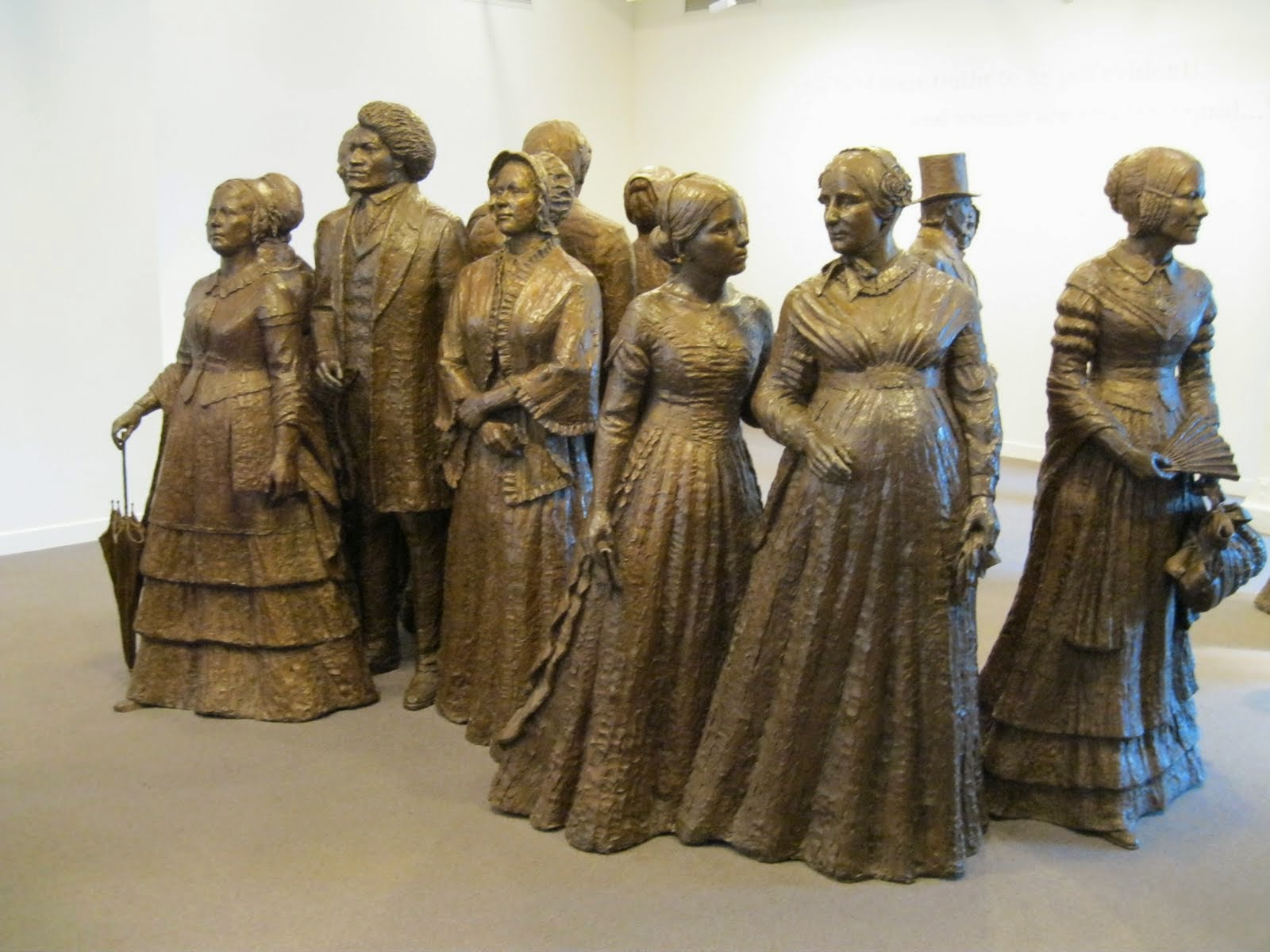 catholic single women in seneca falls Held at seneca falls  and religious condition of woman, was called by the women of seneca  after depriving her of all rights as a married woman, if single.