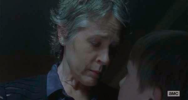 Carol en The Walking Dead 5x13 - Forget