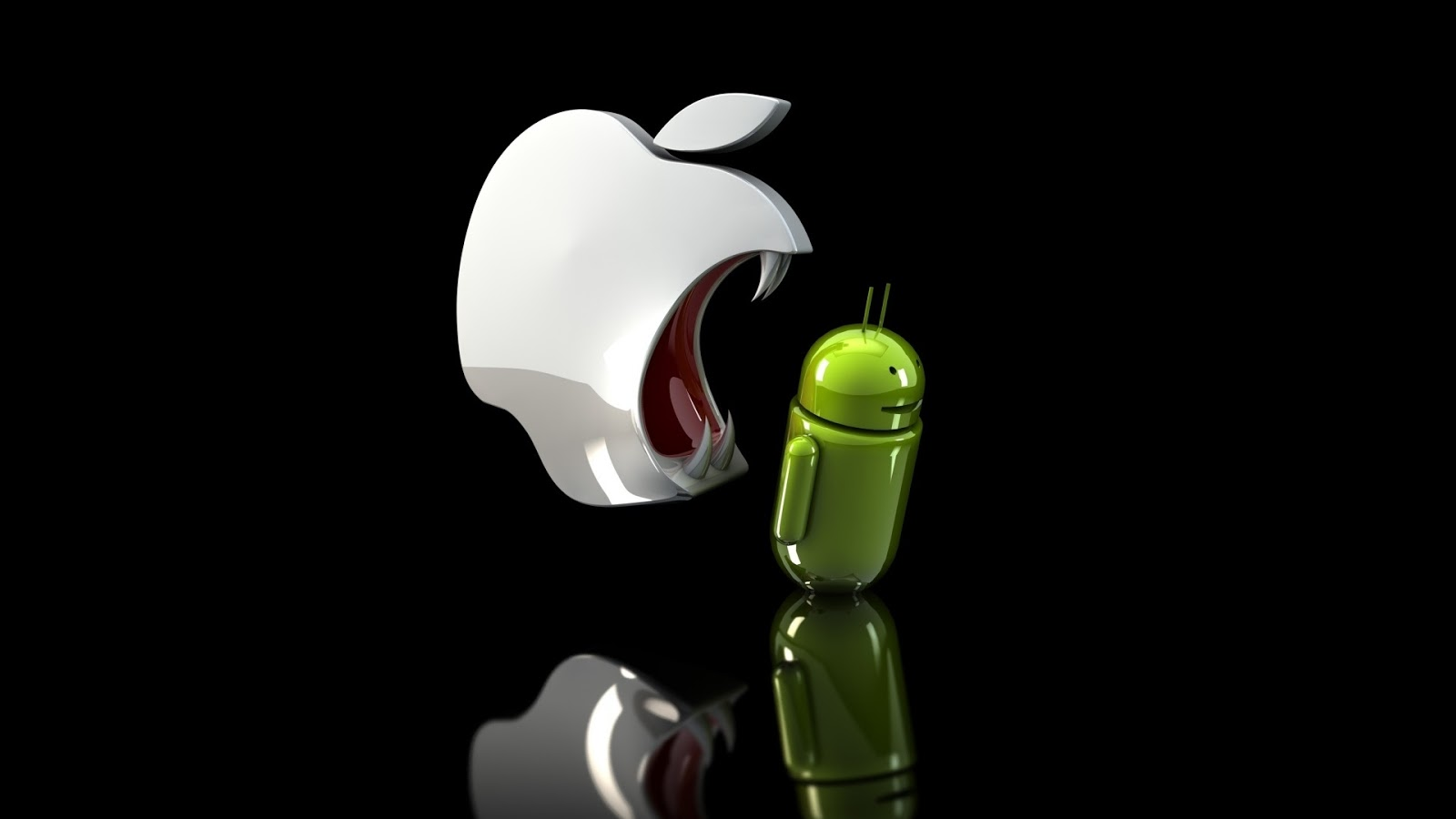 Iphone Android 3D HD Wallpaper
