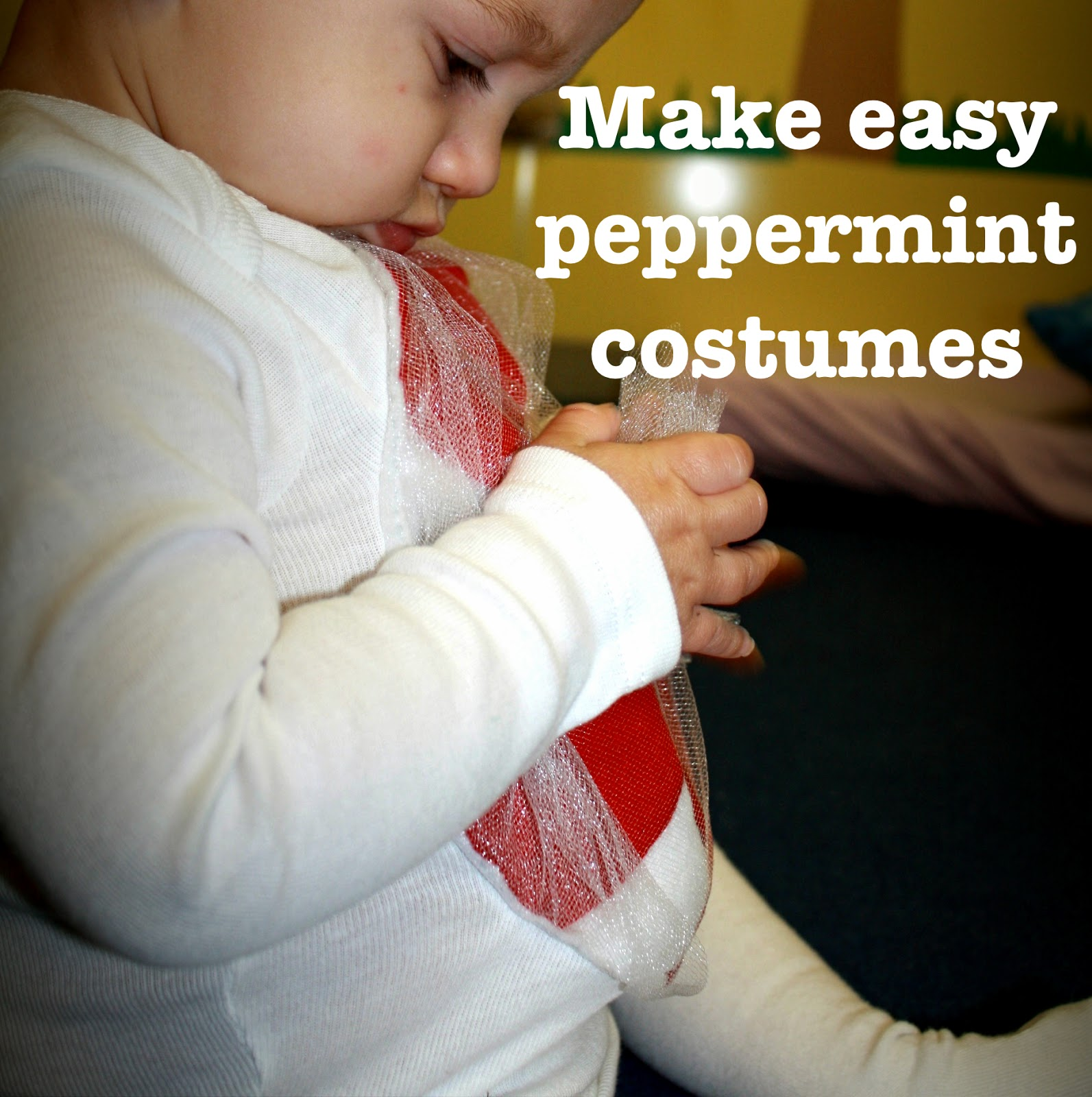 baby peppermint costume