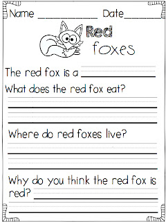 math worksheet : a day in first grade  what does the fox say finding the main  : Kindergarten Main Idea Worksheets