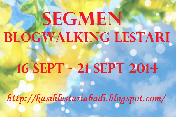 Segmen Blogwalking Lestari