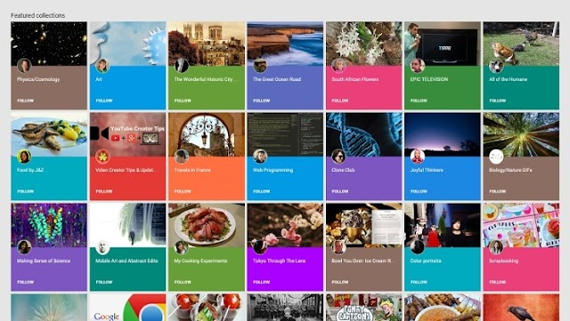 5 tips for Google+ Collections