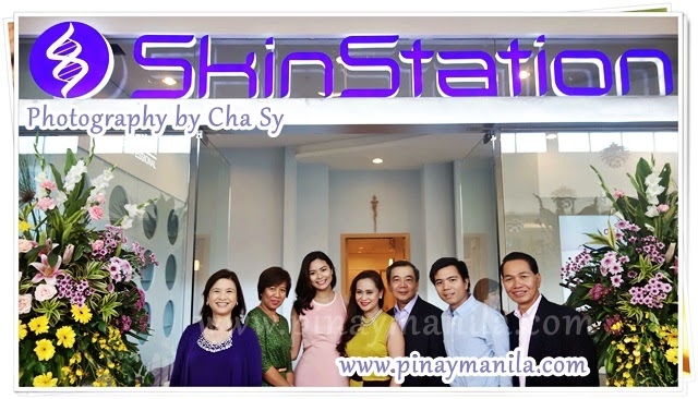 SkinStation Service Menu, Sta. Rosa Mayor Arlene Bawan Arcillas Nazareno , Carleen and Fred Reyes, Maxine Medina of SkinStation.
