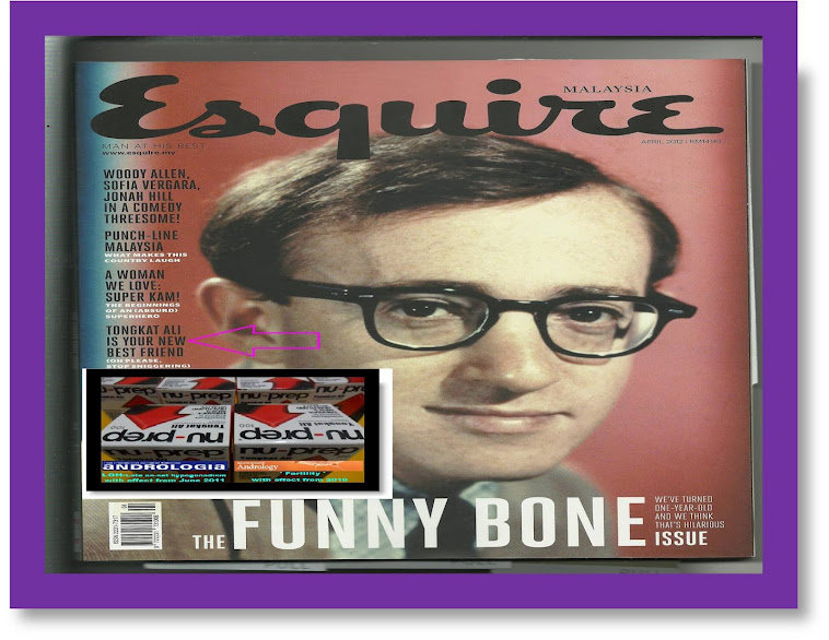 Esquire Malaysia April 2012 Tongkat Ali is your new best friend Nu-Prep100 Freeze Dried US,EUpatent