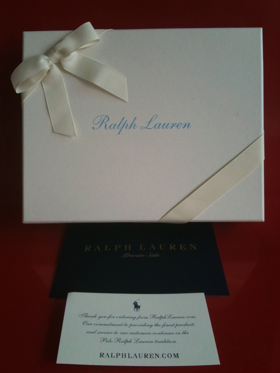 Ralph Lauren with Gift Boxes & TheMummyShop: Ralph Lauren with Gift Boxes