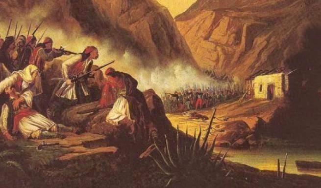 Η μάχη της Ανδρίτσαινας το 1825