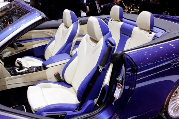 Interior 2014 BMW Alpina B4 Bi-Turbo Cabrio