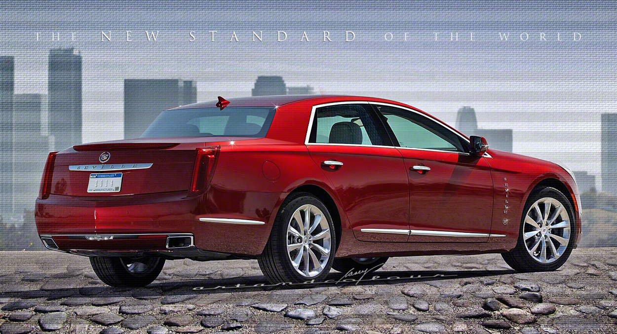 for a 2014 Cadillac Seville, a longer-than-XTS, rear-wheel drive