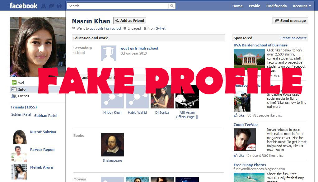 "Nettie's Ramblings: ""How to Spot a Fake Facebook Account"""