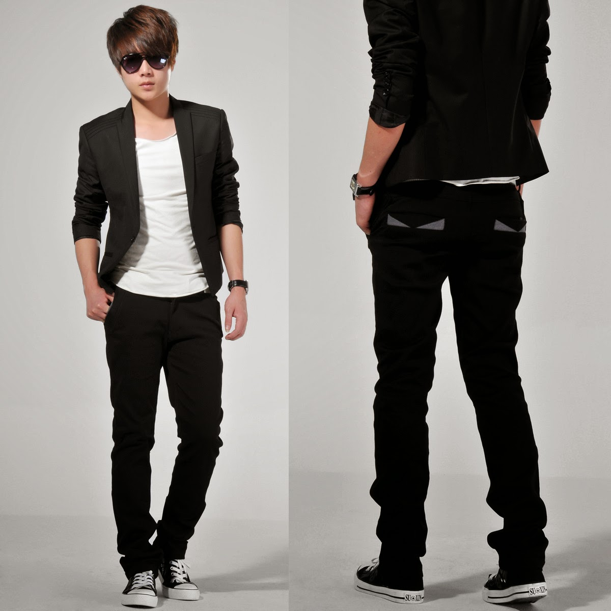 5 Model baju santai korea pria terbaru