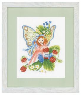 Lanarte. Девочка с лесной земляникой (Wild Strawberries Girl)