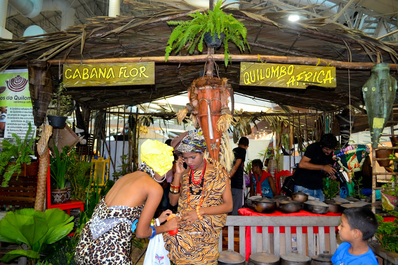 Adesivo Infantil De Parede ~ Indígenas e quilombolas mostram suas tradições culturais na feira do artesanato