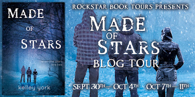 Blog Tour, Guest Post and Giveaway: Made of Stars by Kelley York