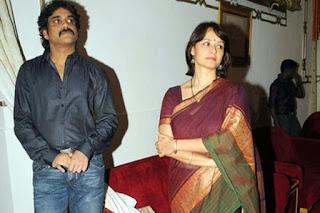 Actor Nagarjuna and Actress Amala