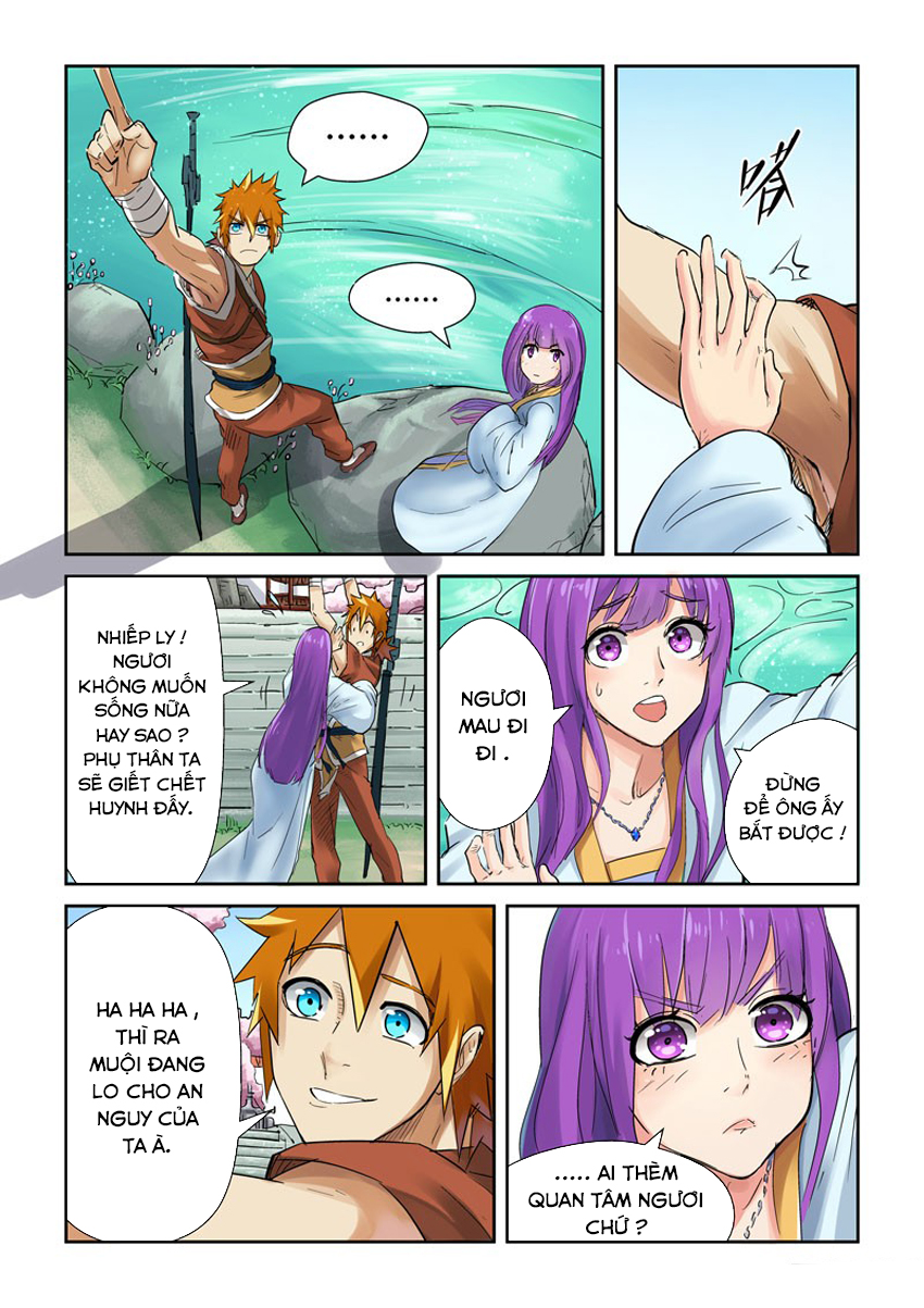 Tales of Demons and Gods chap 121.5 Trang 5 - Mangak.info
