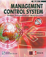 toko buku rahma: buku MANAGEMENT CONTROL SYSTEM SISTEM PENGENDALIAN MANAJEMEN BUKU 2, pengarang robert n. anthony, penerbit salemba empat