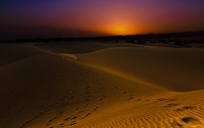 Sundown Dunes wallpaper