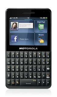 Motorola EX226 dual SIM smart phone