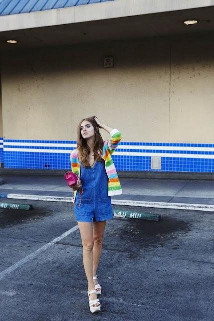 NMJ denim jumper - Chiara Ferragni