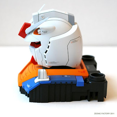 RX78-2 Gundam The Origin Head Model