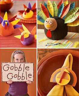 table decorations to make for thanksgiving