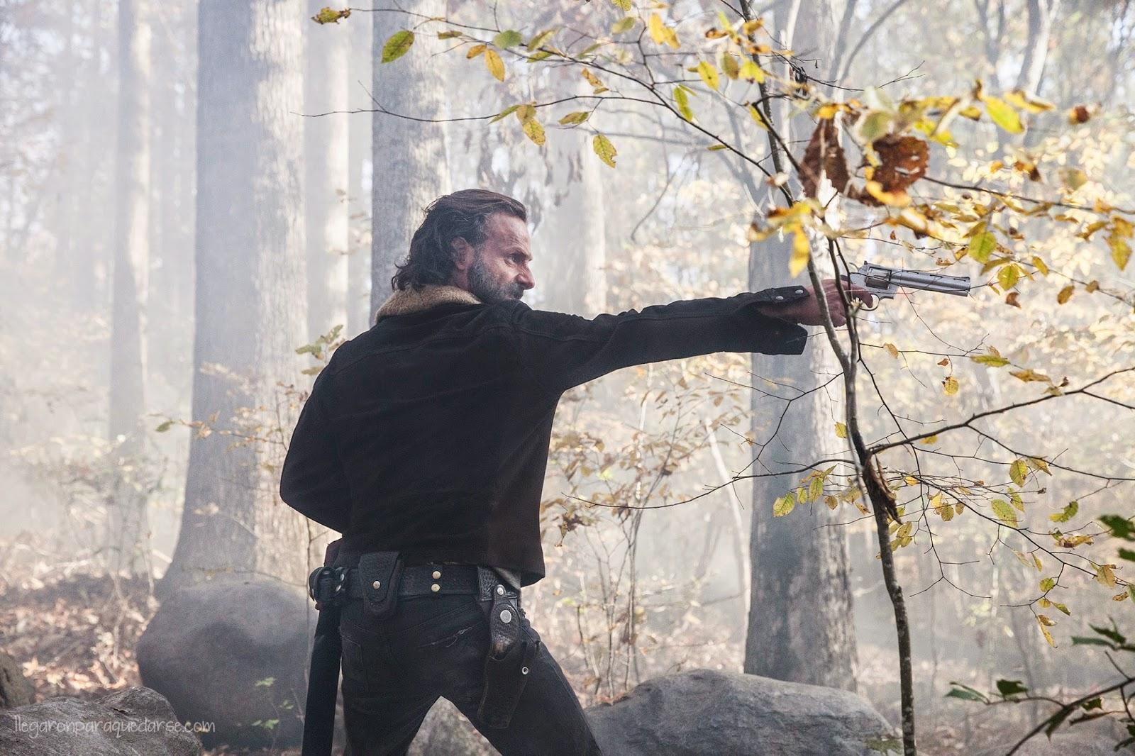 Rick en la segunda mitad de la quinta temporada