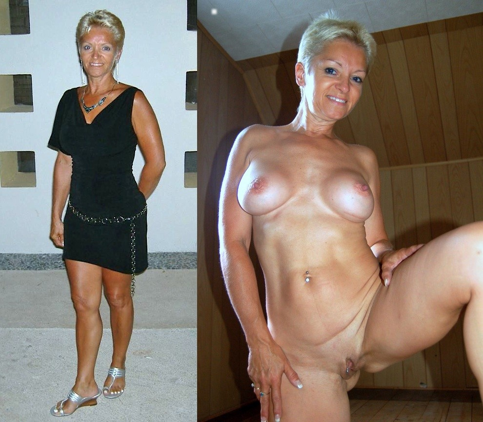 Housewives dressed undressed