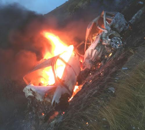 TRAGÉDIA: Batida frontal deixa ao menos 4 mortos na BR-101, entre Cruz das Almas e Muritiba
