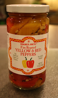 Roasted Yellow & Red Peppers