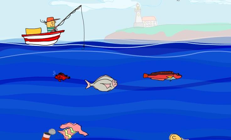 Un día de pesca.