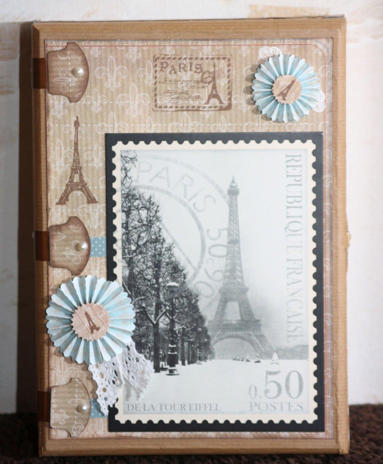 Kreative ideen rund ums basteln scrapbooking kochen und backen schmuckkiste paris - Scrapbook ideen ...