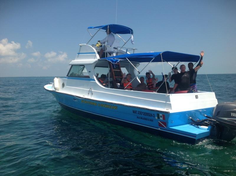 Pesca y esnorquel en Isla Mujeres